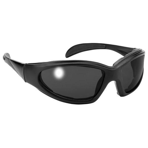 【USA在庫あり】 パシフィックコースト Pacific coast サングラス Chopper Padded 黒/スモークレンズ(12個売り) 159100 HD店