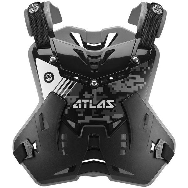 【USA在庫あり】 アトラス ATLAS プロテクター ディフェンダー 黒 フリーサイズ 720997 HD