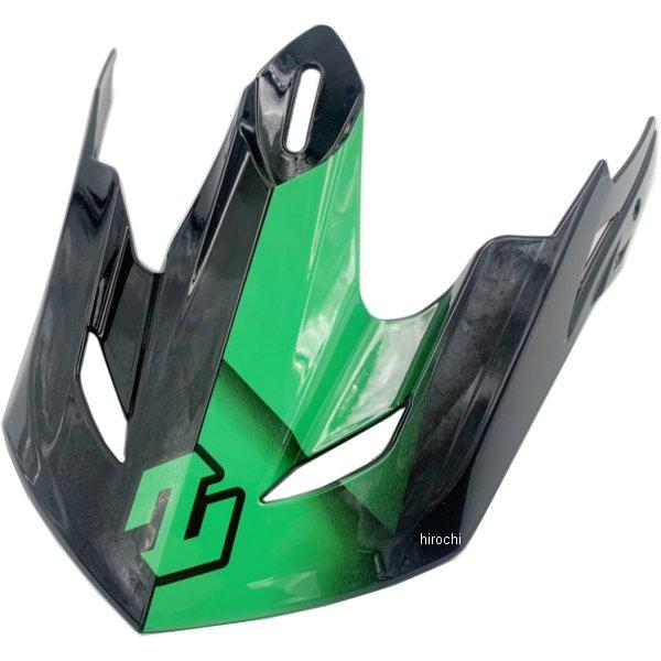 メーカー在庫あり ジーロット ZEALOT バイザー MadJumper2 カーボングラフィック マッドジャンパー2用リペア 毎日がバーゲンセール HD店 新作販売 MJ2R0024 緑