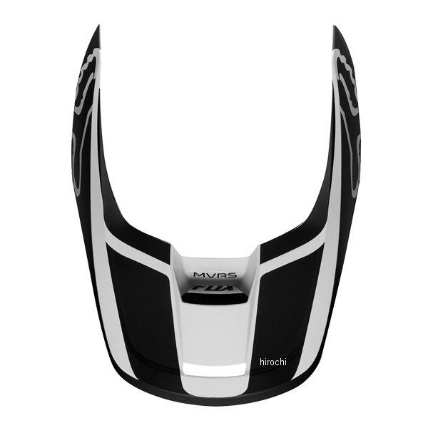 フォックス FOX ヘルメットバイザー V1 最安値 プリズム用 白 時間指定不可 黒 HD店 Sサイズ 22975-018-S