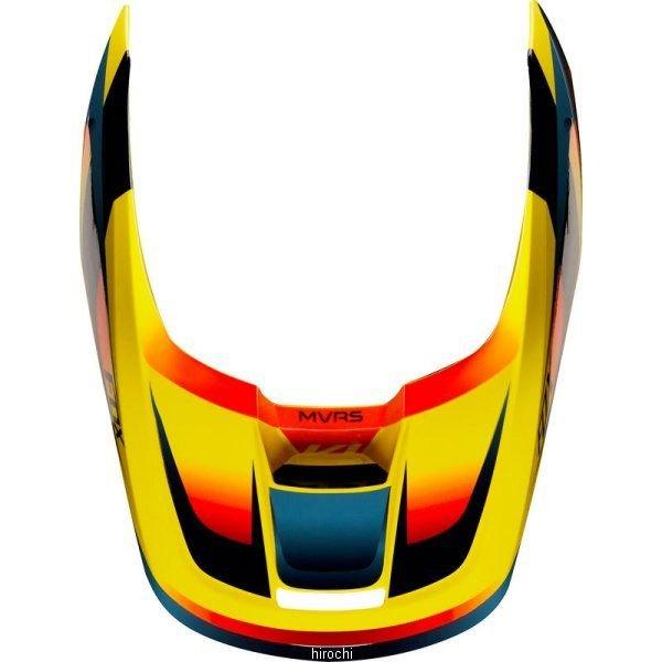 フォックス FOX 信託 ヘルメットバイザー V1 モチーフ用 黄 信託 22979-005-S Sサイズ HD店