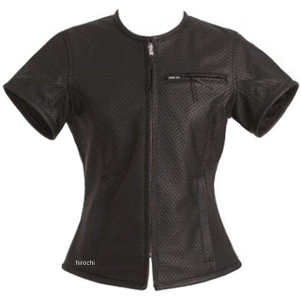 1097 カドヤ KADOYA パンチングレザーTシャツ レディース 黒 Mサイズ 1097-BK-MW HD店