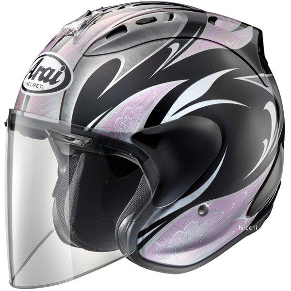 山城×アライ ヘルメット SZ-ラム4 カレン 黒/ピンク Lサイズ (59cm-60cm) 4530935411825 HD店