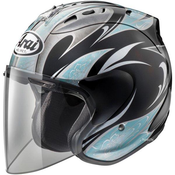 山城×アライ ヘルメット SZ-ラム4 カレン 黒/青 Lサイズ (59cm-60cm) 4530935411870 HD店