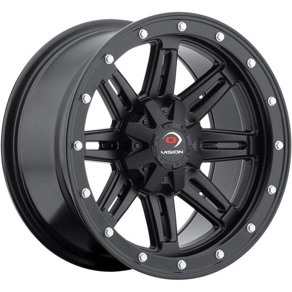 【USA在庫あり】 ビジョンホイール Vision Wheel ホイール 550B 14x7 4/156 4+3 フロント 0230-0641 HD