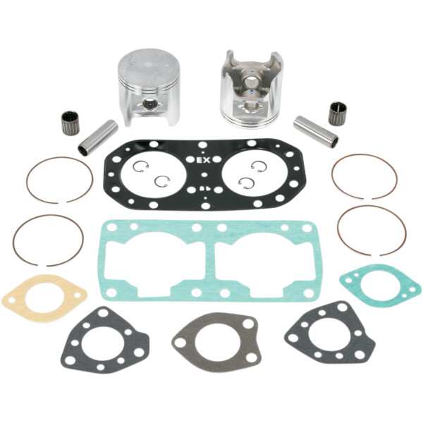 【USA在庫あり】 WSM トップエンド エンジン補修キット カワサキ650 76mm スタンダード 010-810-10 HD