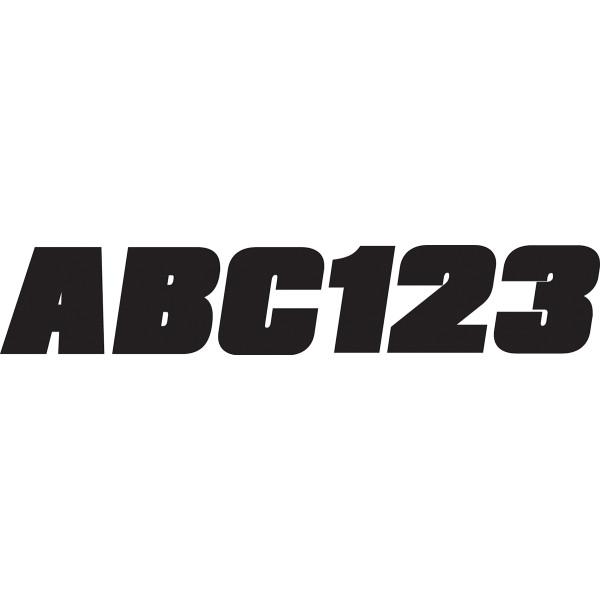 USA在庫あり 贈答品 ハードライン HARDLINE ステッカー 76mm 黒 HD 大放出セール BLK350EC 146枚入り