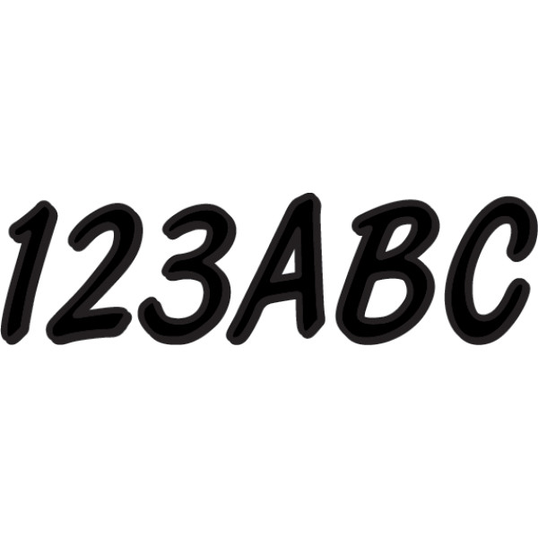 USA在庫あり ハードライン HARDLINE ステッカー お見舞い アウトレットセール 特集 76mm BLK400EC HD 黒 146枚入り