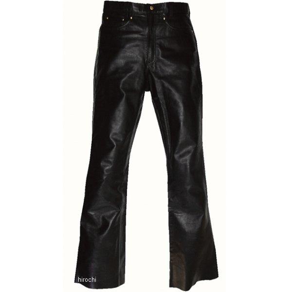 スプーン SPOON レザーパンツ ブーツカット 黒 28サイズ SPP-316 HD店