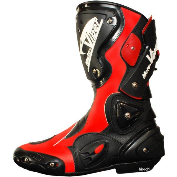 モトバイパー Moto-Viper レーシングブーツ Mur640 赤 40サイズ MV-811 HD店