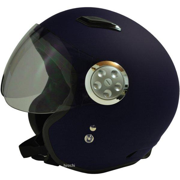 【メーカー在庫あり】 スプーン SPOON ヘルメット パイロット マットネイビー フリー (58cm-60cm)サイズ (ショートシールド) SPJ-9101S HD店