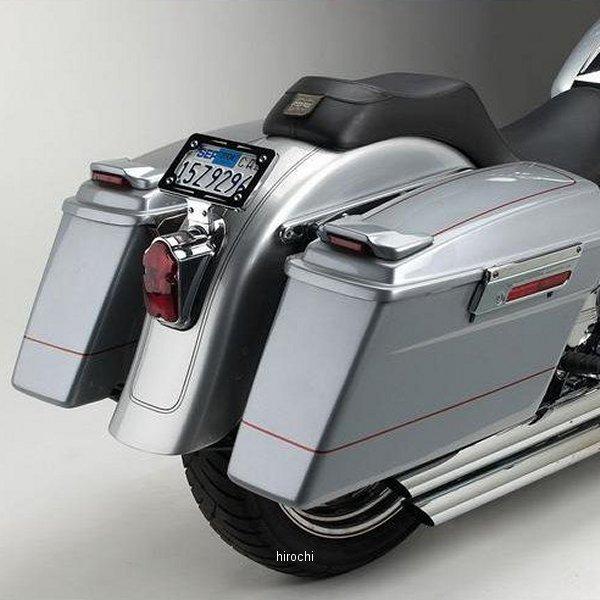 【USA在庫あり】 サイクルビジョン Cycle Visions サドルバッグ取付金具 FLST クローム 3501-0541 HD店