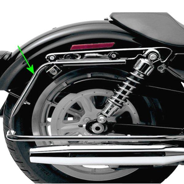 【USA在庫あり】 サイクルビジョン Cycle Visions サドルバッグ取付金具 04年-13年 XL 黒 3501-0733 HD店