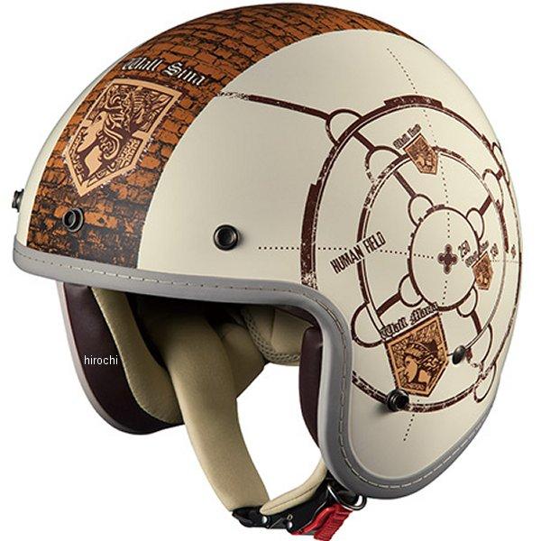 オージーケーカブト OGK Kabuto ヘルメット BOB-Z AOT 進撃の巨人 フラットアイボリー 57cm-59cm 4966094546021 HD店