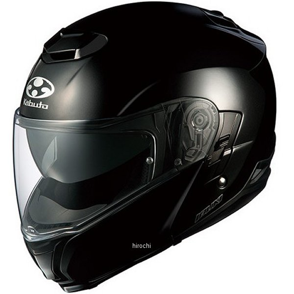 オージーケーカブト OGK Kabuto ヘルメット イブキ ブラックメタリック XXLサイズ(63cm-64cm) 4966094550851 HD店
