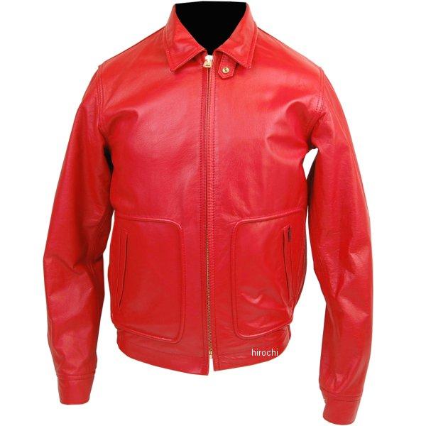 1150 カドヤ KADOYA シングルライダース 50SJAC2 赤 LLサイズ 1150-RED-LL HD店