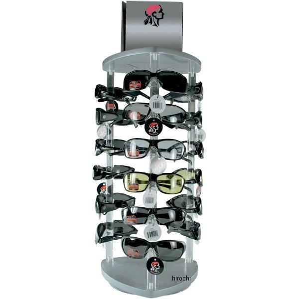 【USA在庫あり】 ザンヘッドギア ZAN Headgear サングラス ディスプレイ 幅356mm×高さ622mm 18個 Mixed 9903-0353 HD店