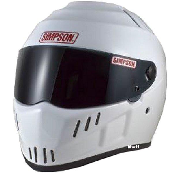 シンプソン 日本最大級の品揃え SIMPSON ヘルメット 超激安特価 スピードウェイ RX12 4562363243471 白 58cm HD店