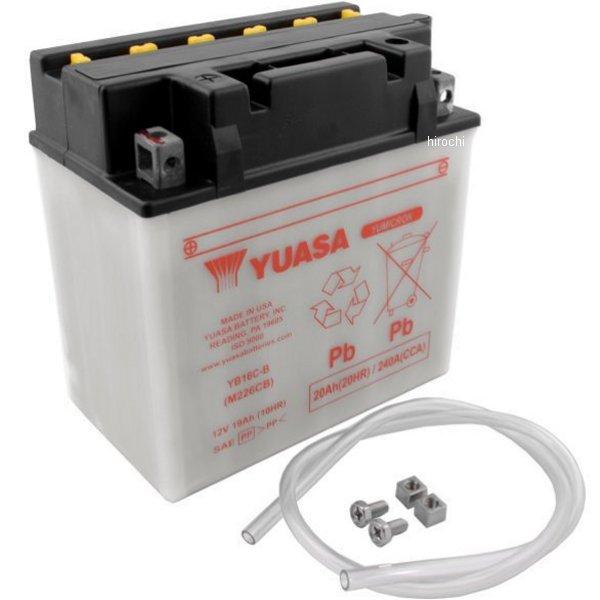 【USA在庫あり】 ユアサ バッテリー 開放型 YB16C-B 581107 HD店