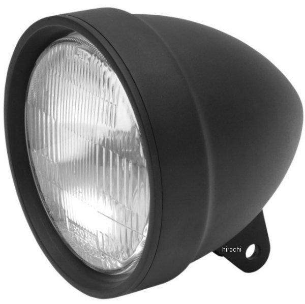 【USA在庫あり】 DRAG ヘッドライト 5.75インチ H-4 マットブラック 2001-0207 HD店
