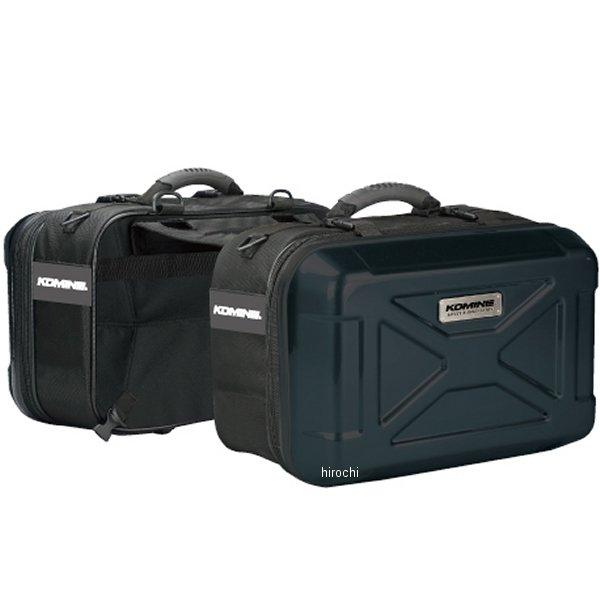 SA-235 コミネ KOMINE ハードシェルツーリングサドルバッグ 黒 フリーサイズ (42L) 4560163759383 HD店