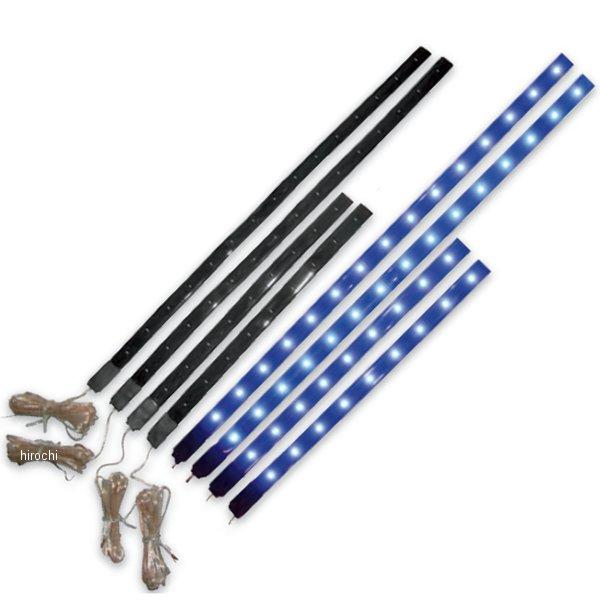 【USA在庫あり】 ブライトライツ Brite-Lites LEDストライプ 8本(305mmx4本、203mmx4本) 黄 2040-0971 HD店