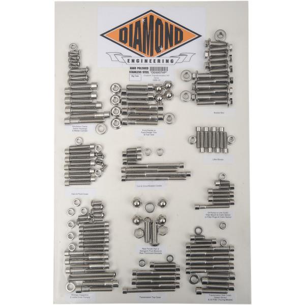 【USA在庫あり】 ダイヤモンドエンジニアリング ボルトキット カバー全体 99年-05年 ダイナ OEMスタイル 2401-0844 HD店