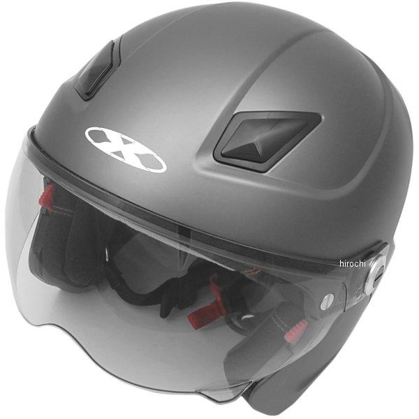 SOLDAD リード工業 システムヘルメット X-AIR ソルダード スモーキーシルバー フリーサイズ (57cm-60cm) SOLDAD-SMSV HD店