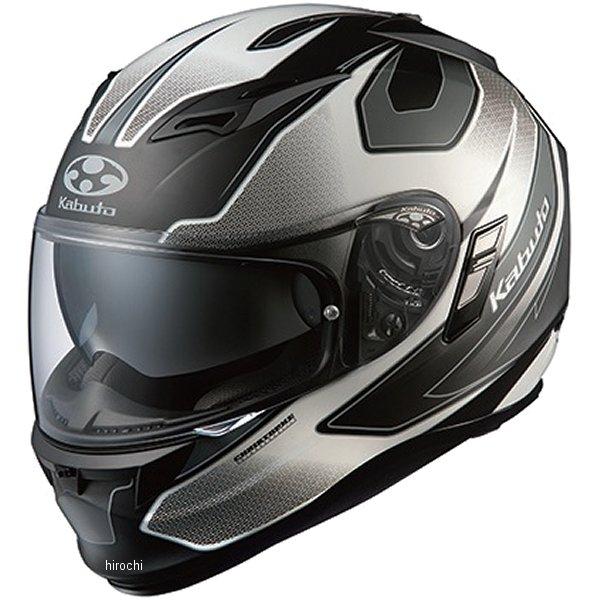 【メーカー在庫あり】 オージーケーカブト OGK Kabuto ヘルメット カムイ 2 ステインガー 黒(つや消し)ホワイト Lサイズ 4966094554910 HD店