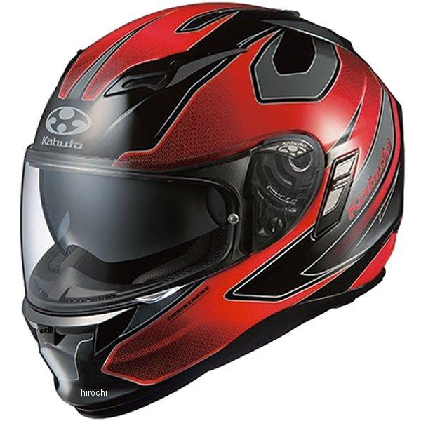 【メーカー在庫あり】 オージーケーカブト OGK Kabuto ヘルメット カムイ 2 ステインガー ブラックレッド Sサイズ 4966094554941 HD店