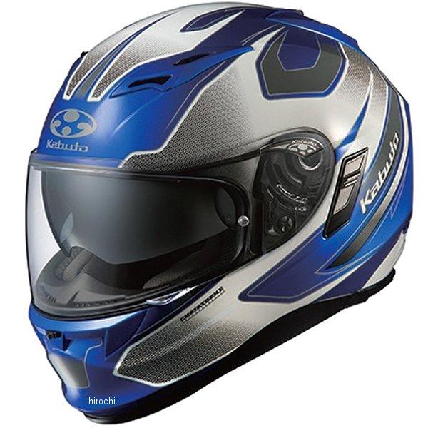 オージーケーカブト OGK Kabuto ヘルメット カムイ 2 ステインガー ブルーホワイト Lサイズ 4966094555061 HD店