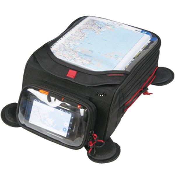 ラフ&ロード デュアルライディングタンクバッグFC 黒/赤 10L-12L RR9224BK-RD HD店