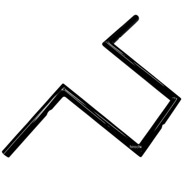 【USA在庫あり】 LAチョッパーズ LA Choppers 1インチ ハンドルバー ナローZ 10インチ 黒(つや有り) 0601-2057 HD店