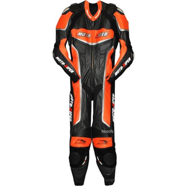 モトバイパー Moto-Viper レーシングスーツ オレンジ/黒 Mサイズ MV-111 HD店