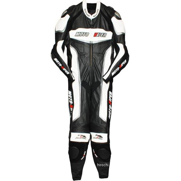モトバイパー Moto-Viper レーシングスーツ 白/黒 Lサイズ MV-111 HD店