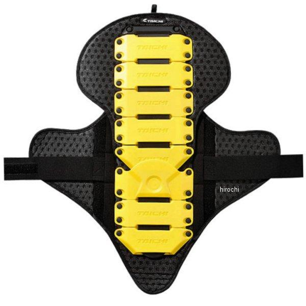 【メーカー在庫あり】 NXV309 RSタイチ フレックス バックプロテクター 黄 フリーサイズ NXV3092500 HD店