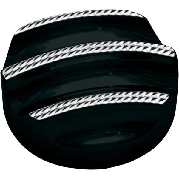 【USA在庫あり】 コビントン Covingtons ディップスティック カバー 07年以降 FLH ダイヤモンドエッジ黒 0710-0085 HD