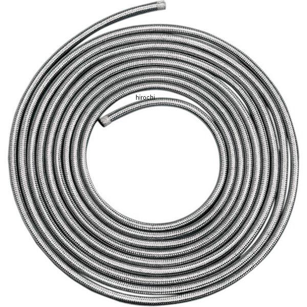 【USA在庫あり】 DRAG フューエル/オイル ステンレス編組ホース 1/4インチ(6mm) x 25フィート(7.5m) DS-096612 HD店
