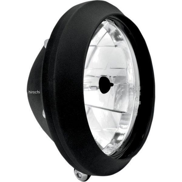 【USA在庫あり】 パフォーマンスマシン 5.75インチ(146mm) ヘッドライト CLEAN 黒つや消し PM3423 HD