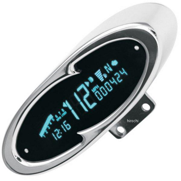 【USA在庫あり】 ダコタデジタル Dakota Digital スピード/タコメーター(km/h、MPH) 7000 クローム ウェーブ 2210-0065 HD店