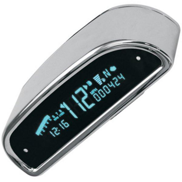 【USA在庫あり】 ダコタデジタル Dakota Digital スピード/タコメーター(km/h、MPH) 7000 クローム フーデッド 2210-0067 HD店