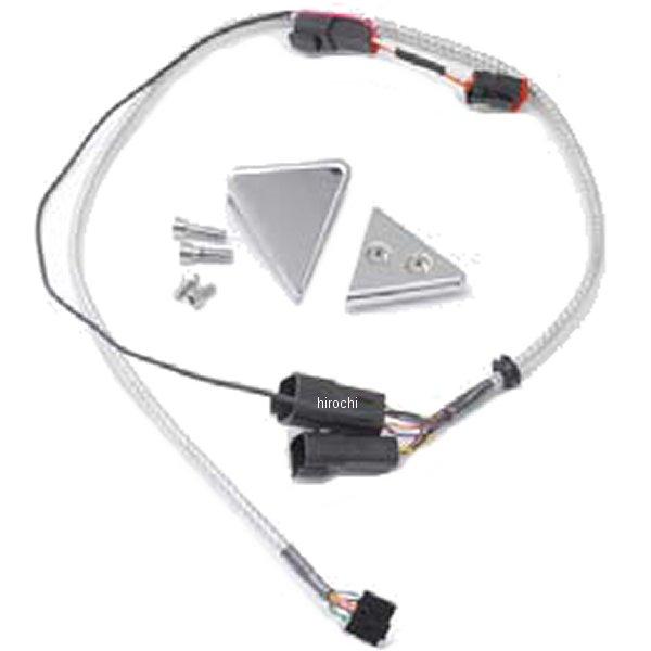【USA在庫あり】 ダコタデジタル Dakota Digital スピードメーター用クランプ 5000 Vバー 05年-06年 クローム 2210-0118 HD