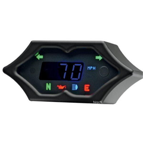 【USA在庫あり】 ダコタデジタル Dakota Digital スピードメーター(km/h、MPH) 5000 黒 スパイク 2210-0192 HD