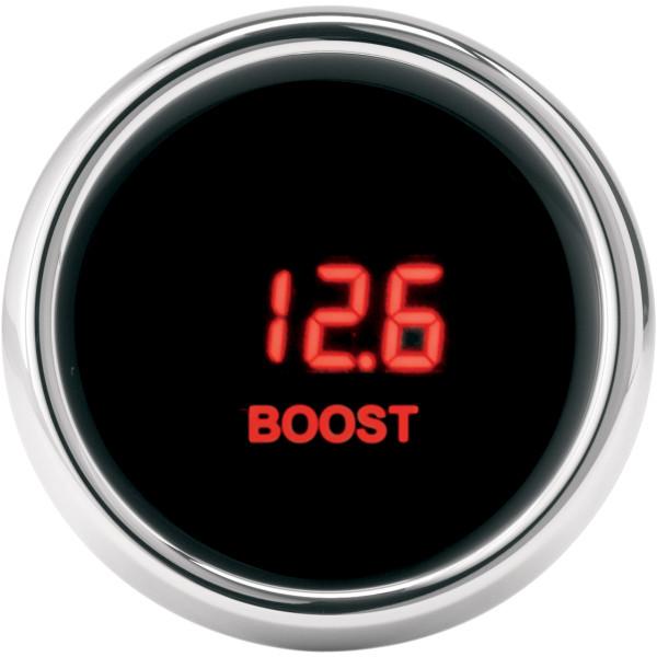 【USA在庫あり】 ダコタデジタル Dakota Digital 0-30 PSIブーストゲージとセンサー 赤LED 2212-0268 HD