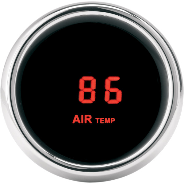 【USA在庫あり】 ダコタデジタル Dakota Digital 外気温度計とセンサー 赤LED 2212-0270 HD