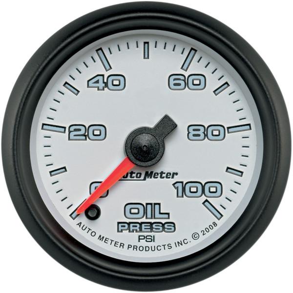 【USA在庫あり】 オートメーター Autometer 2-1/16インチ(52mm) 油圧計 ファンタム II 2212-0383 HD