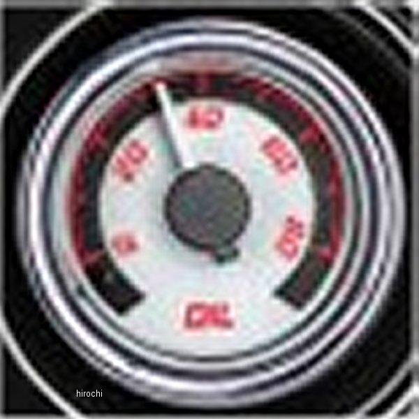 【USA在庫あり】 ダコタデジタル Dakota Digital 油圧計 MVX-8K 白/赤/クロームべゼル 2212-0466 HD