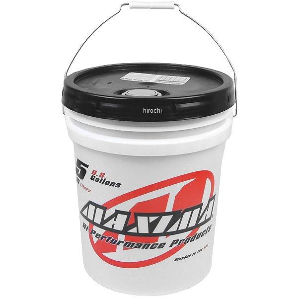【USA在庫あり】 マキシマ MAXIMA 半化学合成 2スト エンジンオイル スーパー M 5ガロン(18.9L) 20505 HD店