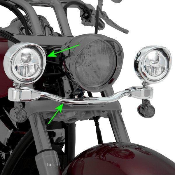417479 ショークローム Show Chrome 3-1/2インチ 楕円光ライトキット 10年-13年 VT1300 417479 HD