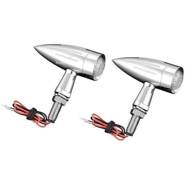 ショークローム Show Chrome 魚雷 LED ウインカー(左右ペア) 417730 HD